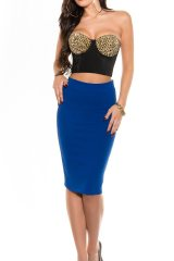 Fusta Fyra Royal Blue - Magazin online haine de dama Fashion