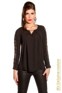 Bluza Myva Black marca JRV Exclusive Couture la  Lei