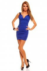 Rochie de club Sely Blue - Magazin online haine de dama Fashion