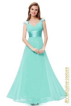 Rochie de seara Sweet Dream Light Blue marca JRV Exclusive Couture la  Lei