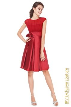 Rochie cocktail Tasha Red marca JRV Exclusive Couture la 195 Lei