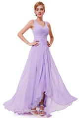 Rochie de seara Angelique Light Purple - Magazin online haine de dama Fashion