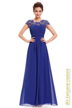 Rochie eleganta Wendy Blue marca JRV Exclusive Couture la 290 Lei