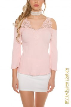 Bluza Aileen Antique Pink - Magazin online haine de dama Fashion