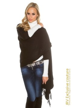 Cardigan Louise Black marca JRV Exclusive Couture la  Lei