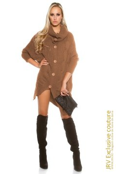 Cardigan Molly Cappuccino marca JRV Exclusive Couture la  Lei