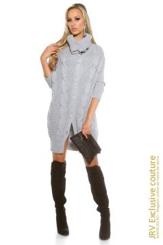 Cardigan Molly Grey marca JRV Exclusive Couture la 116 Lei