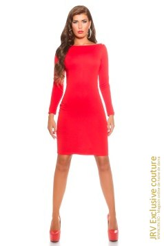 Rochie office Jayda Red marca JRV Exclusive Couture la 149 Lei